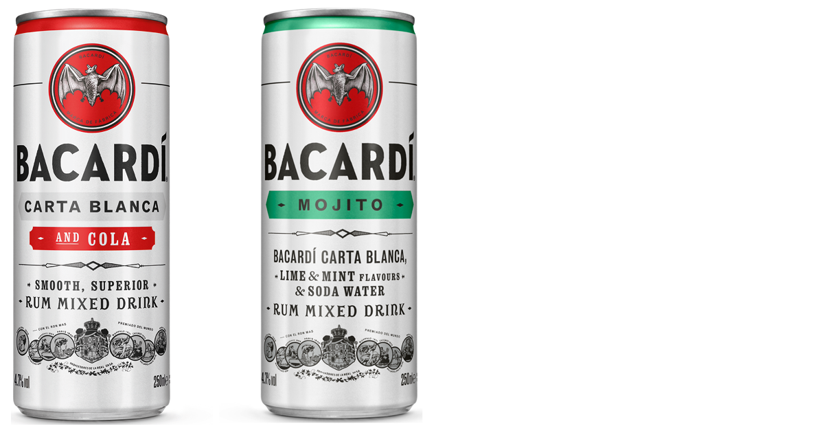 Bacardi cans